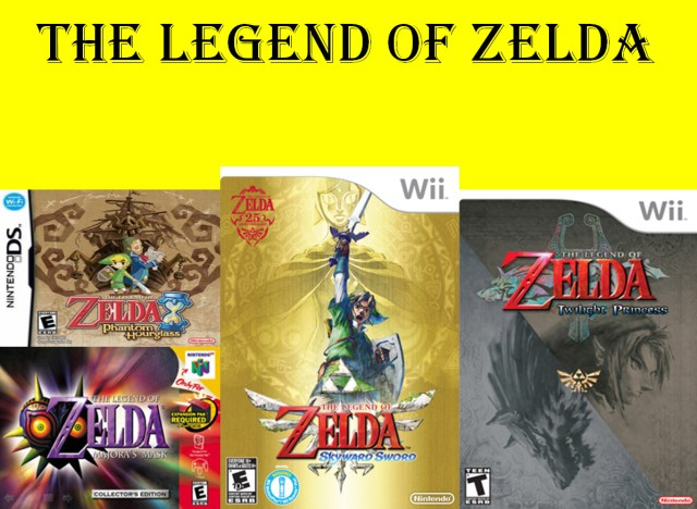 Legend of Zelda Intro