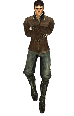 The Outsider from Dishonored  Wiki