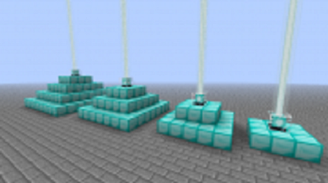 how to set up a beacon in minecraft ps3