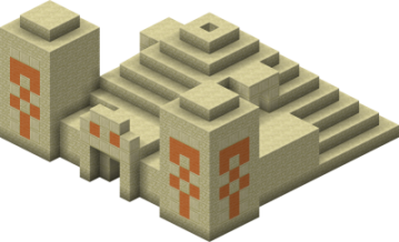 Desert Temple from Minecraft Wiki