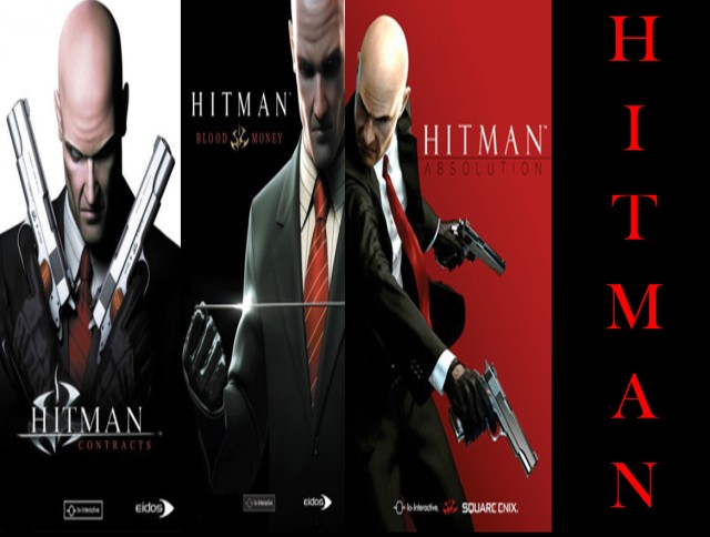 Hitman Intro (Covers from corresponding Wikipedia articles)
