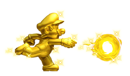 New Super Mario Bros. 2 Gold Mario from Mario Wiki