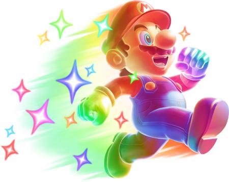 New Super Mario Bros. 2 Star Mario from Mario Wiki