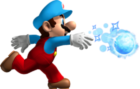 New Super Mario Bros. Ice Mario from Mario Wiki