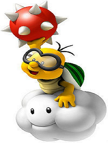 New Super Mario Bros. Wii Lakitu from Mario Wiki