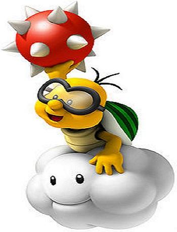 New Super Mario Bros. Wii Lakitu from Mario Wiki
