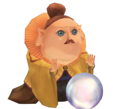 Skyward Sword's Fortune Teller Sparrot from Zelda Wiki
