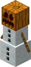 Snow Golem from Minecraft Wiki