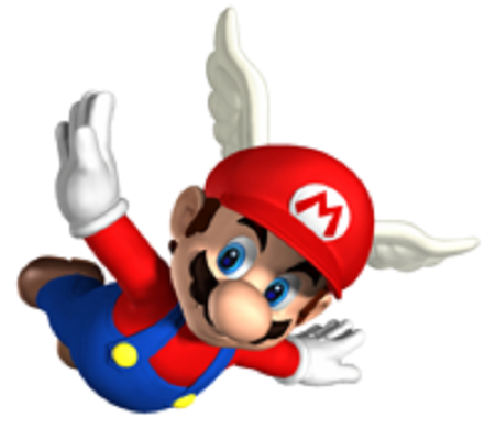 Super Mario 64 DS Wing Mario from Mario Wiki