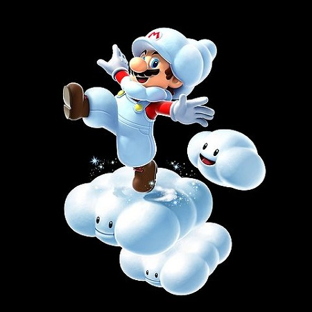 Super Mario Galaxy 2 Cloud Mario from Mario Wiki