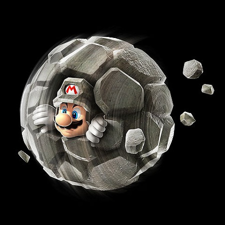Super Mario Galaxy 2 Rock Mario from Mario Wiki