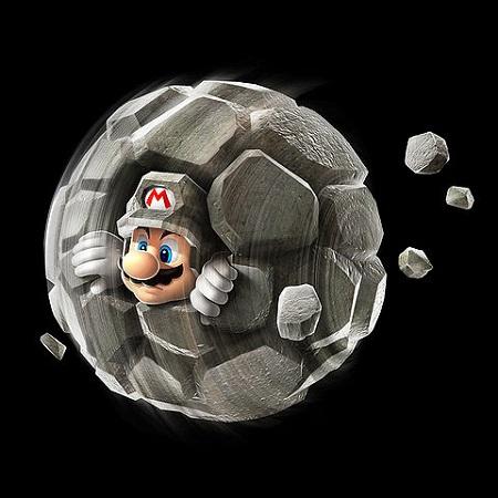 Super Mario Galaxy 2 Rock Mario from Mario Wiki