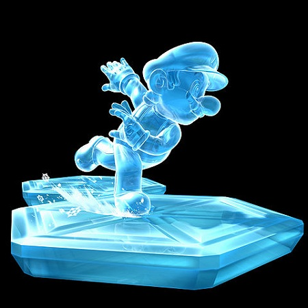Super Mario Galaxy Ice Mario from Mario Wiki