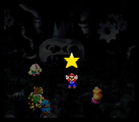 Super Mario RPG Yellow Star Piece from Mario Wiki