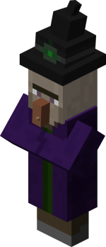 Witch from Minecraft Wiki