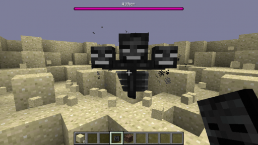 Wither Boss from Minecraft Wiki