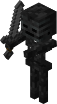 Wither Skeleton from Minecraft Wiki