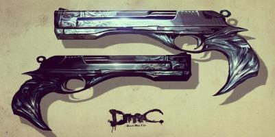 DmC's Ebony and Ivory from Devil May Cry Wiki