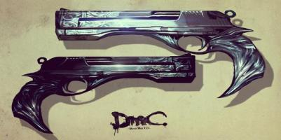 DmC's Ebony and Ivory from Devil May Cry Wiki