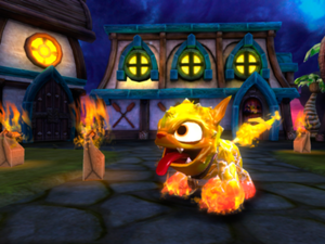 Pic of Skylanders Molten Hot Dog  from Spyro Wiki