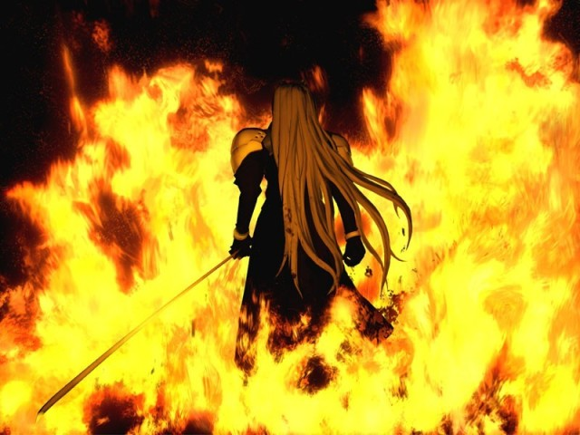 Sephiroth and the Nibelheim Incident from Final Fantasy Wiki
