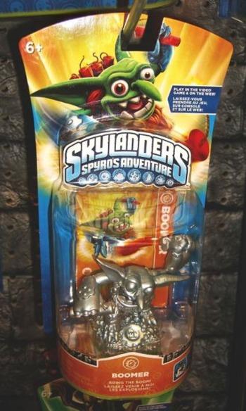 Skylanders Silver Boomer from One of Swords