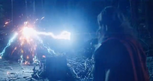 Avengers Thor lightning strike from YouTube