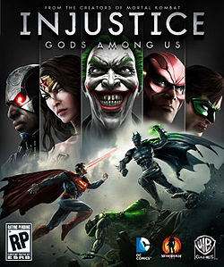 Injustice Gods Among Us Cover from Wikipedia