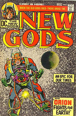 New Gods 1971 Vol 1 #1 from Wikipedia