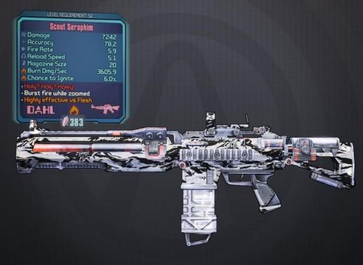 Seraphim Gun from Borderlands Wiki