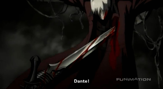 Dante pierced from DMC Anime #1