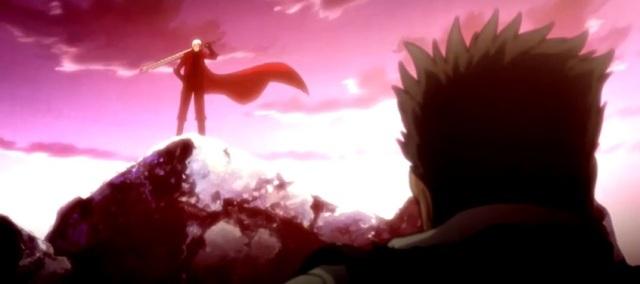Dante triumphant from DMC Anime #2