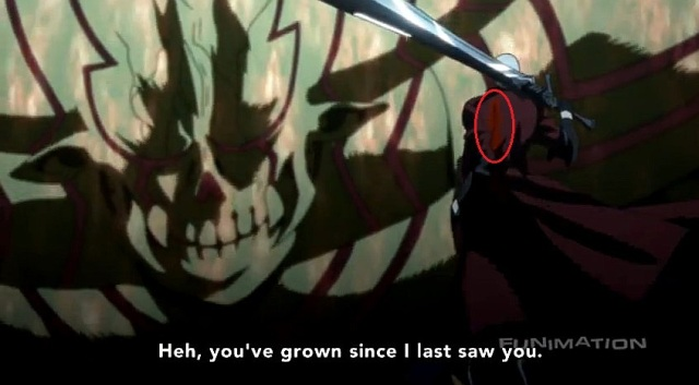 Sword wound #2 from DMC Anime