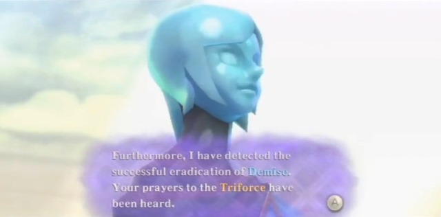 Skyward Sword Triforce Prayer and Answer from YouTube (1)