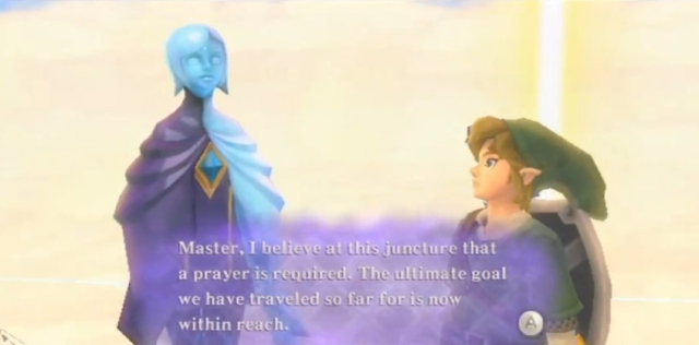 Skyward Sword Triforce Prayer and Answer from YouTube (2)