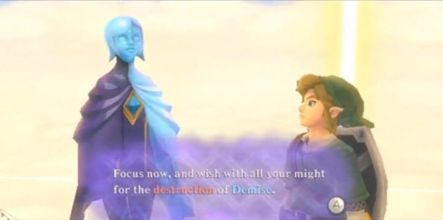 Skyward Sword Triforce Prayer and Answer from YouTube (3)