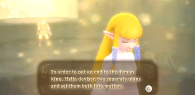 Skyward Sword Zelda is the goddess statements 1 from YouTube (1)