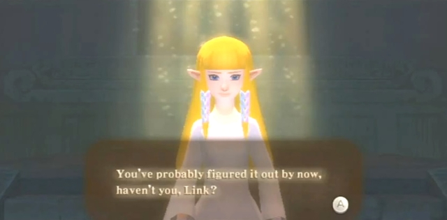 Skyward Sword Zelda is the goddess statements 1 from YouTube (6)