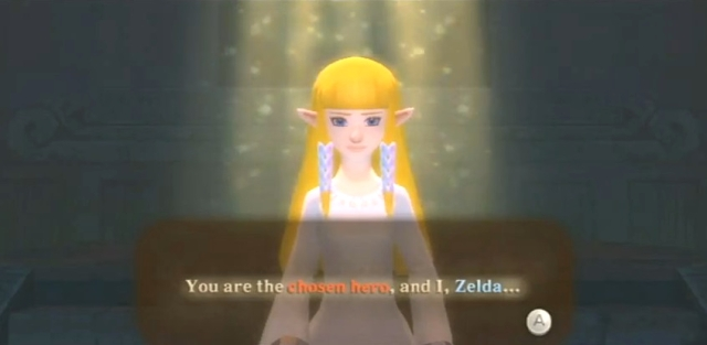 Skyward Sword Zelda is the goddess statements 1 from YouTube (7)