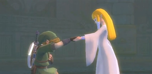 Skyward Sword Zelda is the goddess statements 2 from YouTube (1)