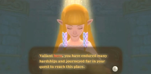 Skyward Sword Zelda is the goddess statements 2 from YouTube (2)