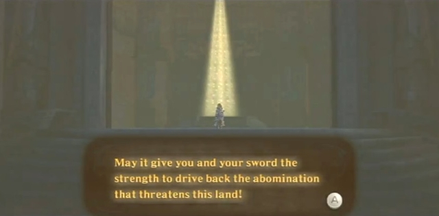 Skyward Sword Zelda is the goddess statements 2 from YouTube (4)