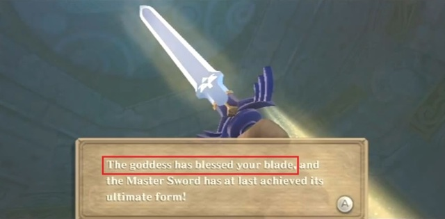 Skyward Sword Zelda is the goddess statements 2 from YouTube (5)