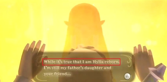 Skyward Sword Zelda is the goddess statements 3 from YouTube