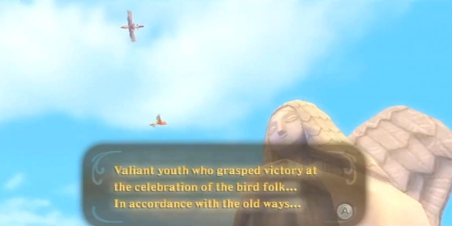 Skyward Sword Zelda's-Goddess' blessing from YouTube (1)
