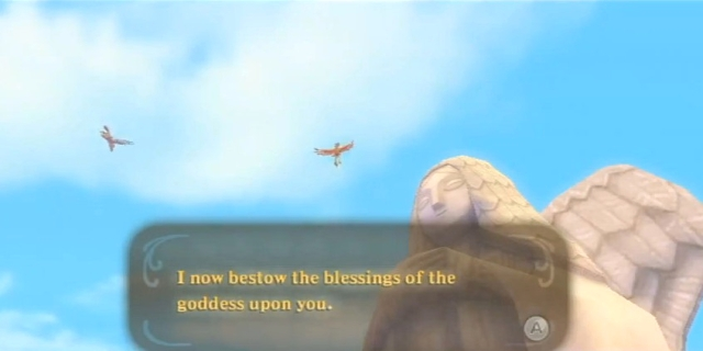 Skyward Sword Zelda's-Goddess' blessing from YouTube (2)