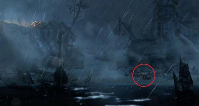 Tomb Raider Lara shipwrecked from YouTube