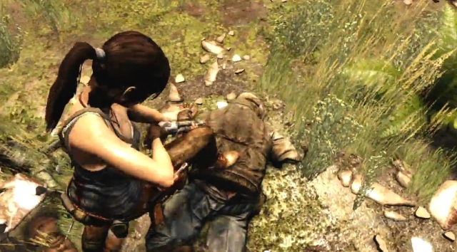 Tomb Raider Lara shoots from YouTube (1)
