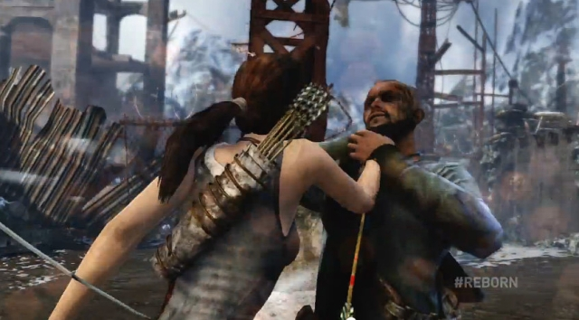 Tomb Raider Lara stabs from YouTube