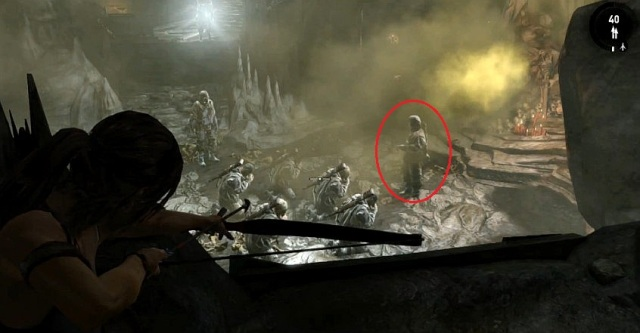Tomb Raider Solarii Preacher praying from YouTube
